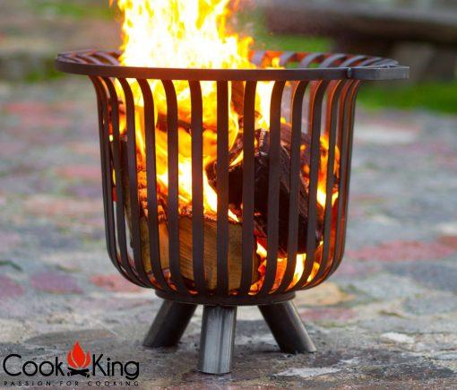 large fire basket