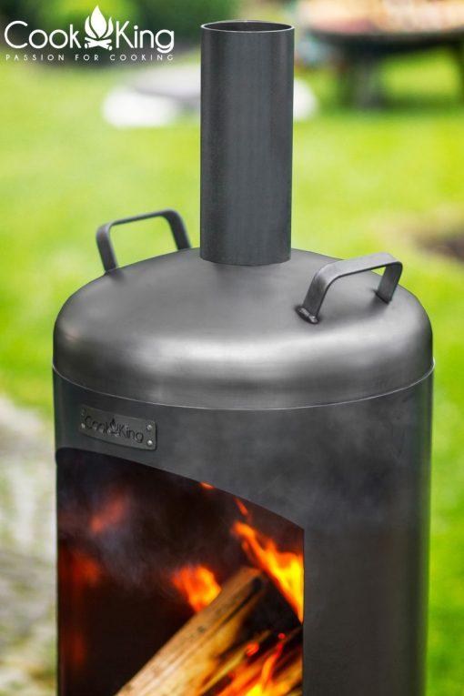 Faro Outdoor Wood Burning Stove faro