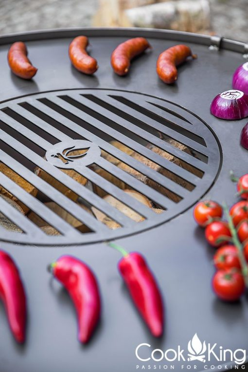 Grill Plate with Grate
