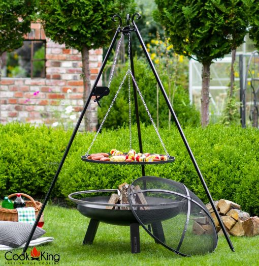 80cmr fire pit mesh cover