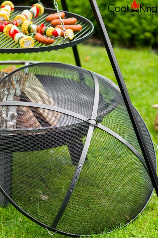 fire pit mesh cover