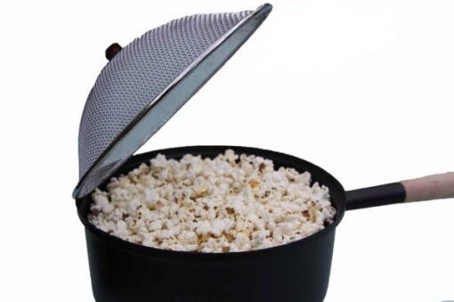 Popcorn Pan with long handle