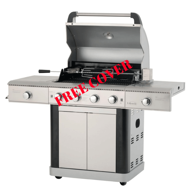 Stainless Steel BBQ St Lucia Gas Barbecue