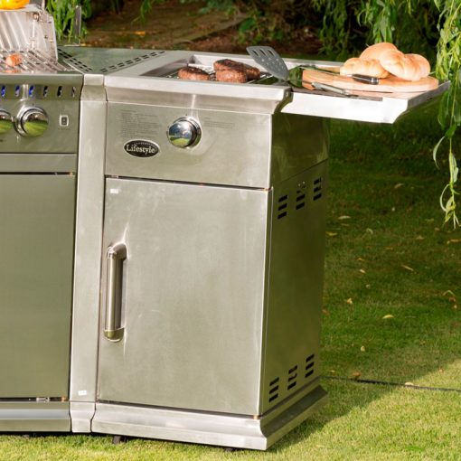 Bahama Island Gas Barbecue