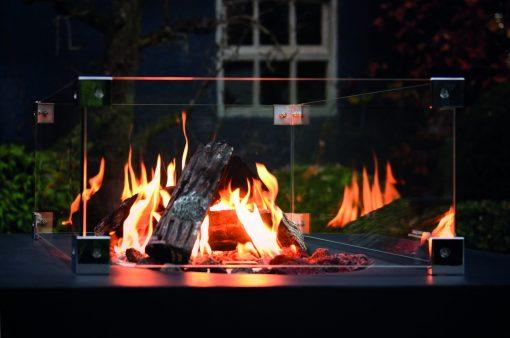 fire pit spark guard