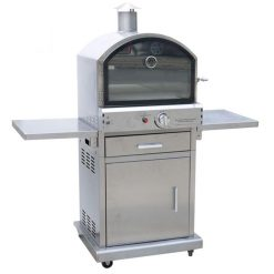 milano delux gas pizza oven