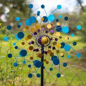 Garden Wind Sculpture Eclipse