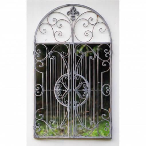 garden gate mirror