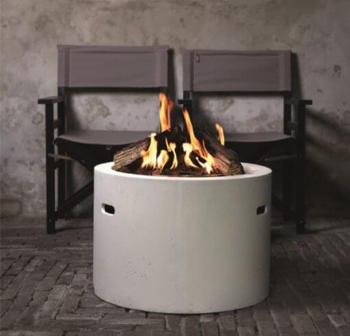 round cocoon outdoor gas heater