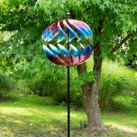 Garden Wind Sculpture Globe