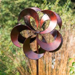 Wind Sculpture Tatton Burnished Gold