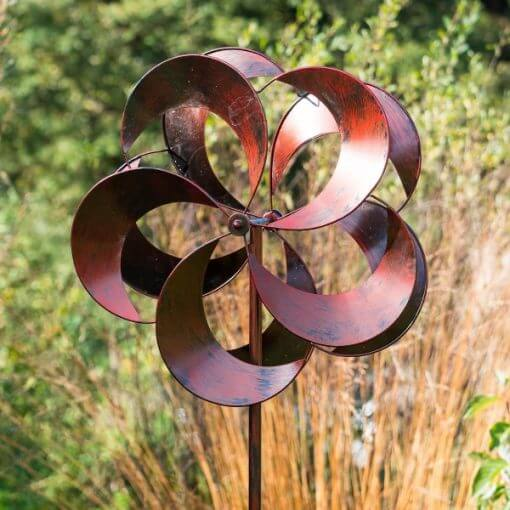 Wind Sculpture Tatton Burnished Gold