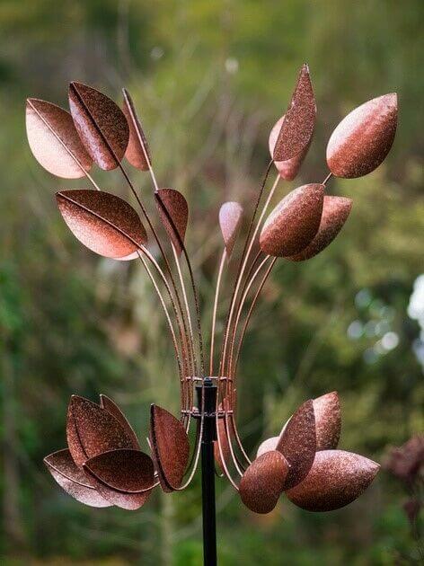 copper beech wind sculpture