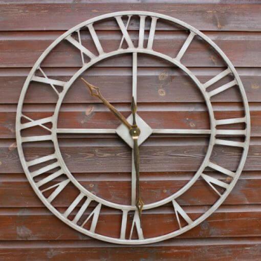 oversized garden clock