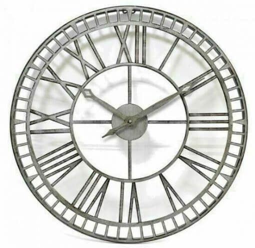 Garden Wall Clock Large