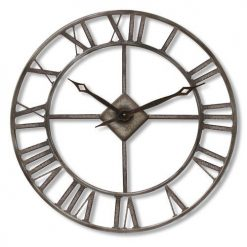 oversized outdoor clock