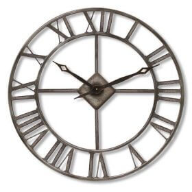oversized outdoor clock