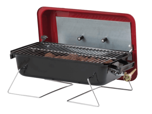 small portable gas-bbq