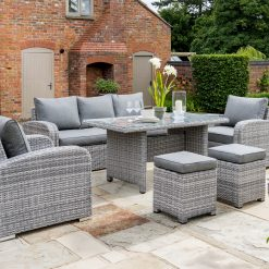 Garden Lounge Furniture Set Longbeach