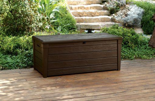 Saxon Wood Look XL Storage Box 454L