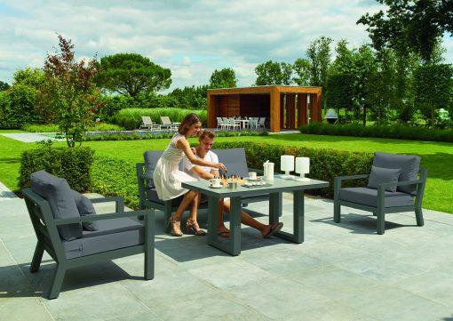 Timber Lounge Set