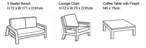 life delta lounge set