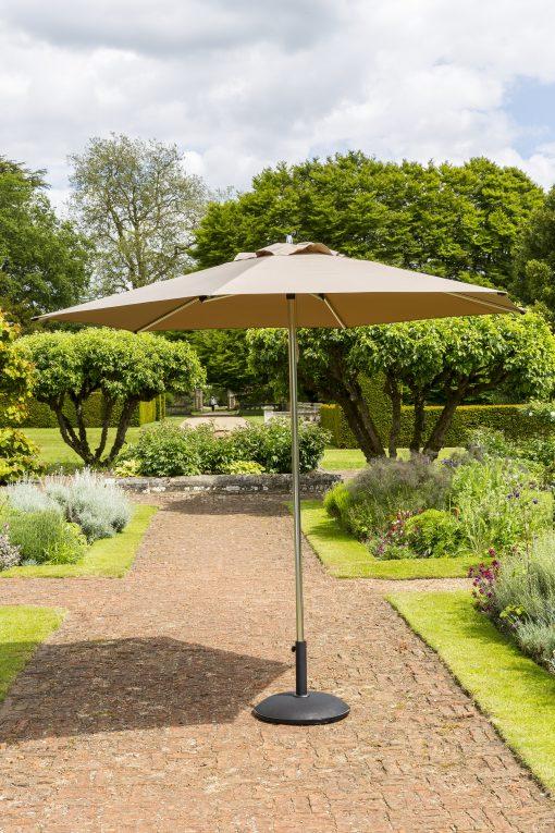 Taupe Garden Parasol