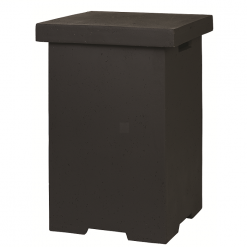 Enclosure Side Table LPG Square Black
