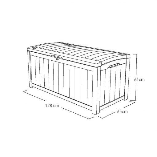 Keter Glenwood Garden Storage Box