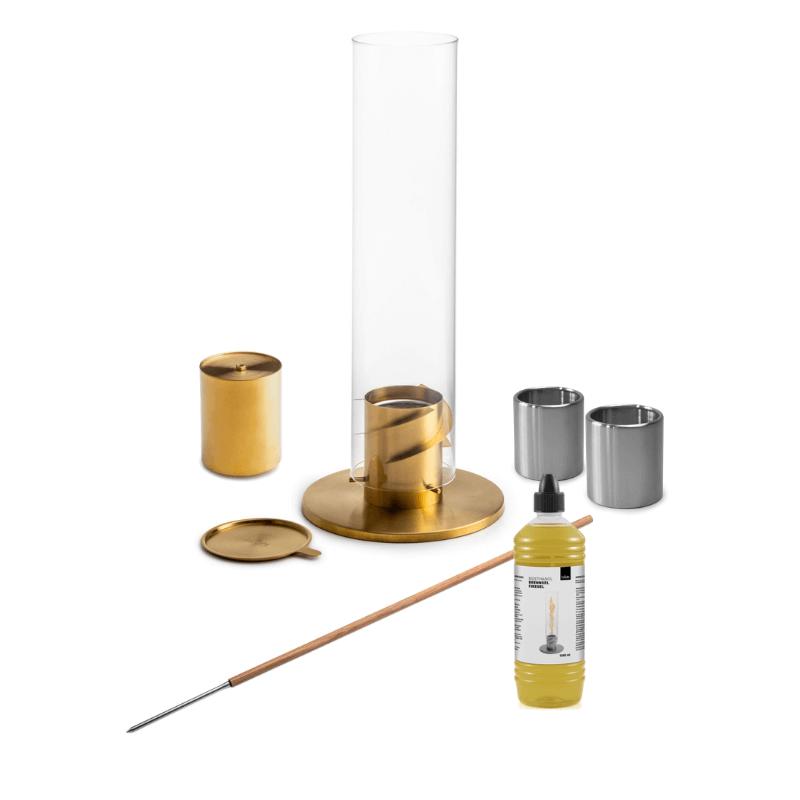 Höfats Spin Gold Garden Torch Bundle